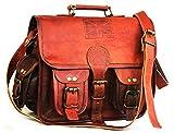 DHK Leather'Handtasche Schultertasche Lederhandtasche Tray Bag 7 Zoll Abendtasche Freizeittasche...
