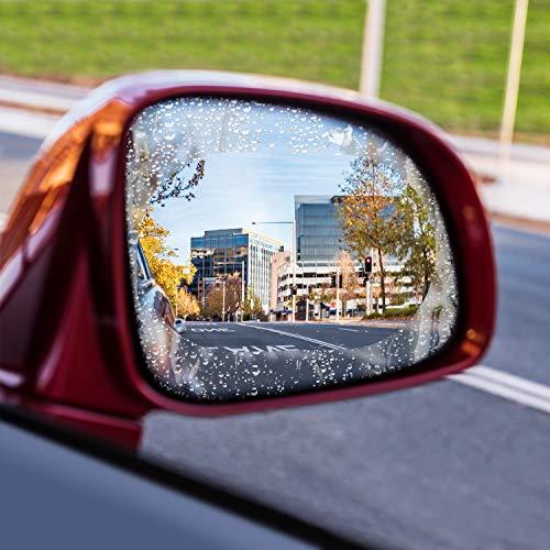 Autopflege & Aufbereitung 2 Stücke Auto Anti Wasser Nebel Film Anti Fog Rainproof Rückspiegel Schutzfolie Hoher Standard In QualitäT Und Hygiene
