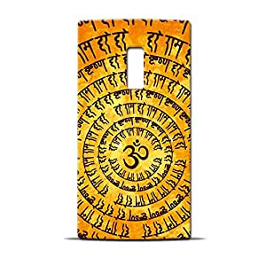 ezyPRNT Om Hare Krishna Hare Rama Printed back Cover for OnePlus Two
