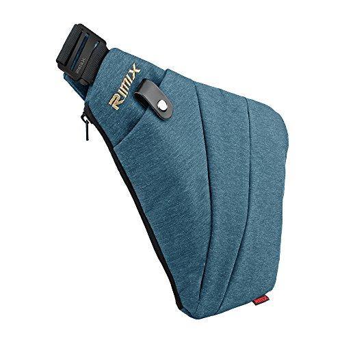 6ea8f3aa7c Rimix Borsa di sicurezza nascosta Borsa sotto la spalla Armpit Messenger  borsa Sport Tempo libero Torcia