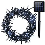 Amir Solar Powered String Lights, (200 LED 8 Modes) 72ft/ 22m, Ambiance Lighting, Solar Fairy String Lights for Easter, for Outdoor, Gardens, Homes, Party