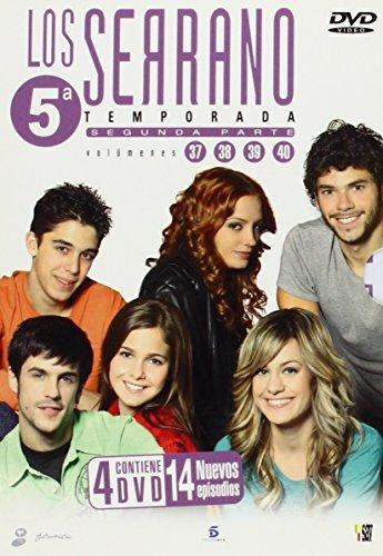Los Serrano, Temporada 5, Segunda Parte, Vol. 37,38,39 y 40. (4 DVD - 14 Episodios - 1120??)