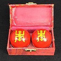 QTZS Chinesisches Traditionelles Gesundheitsball Cloisonne Dekompression Handball 35mm,E preisvergleich bei billige-tabletten.eu