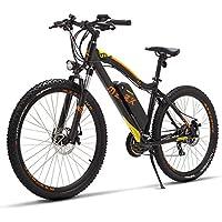 YRWJ Bicicleta Eléctrica De Montaña Desmontable 48V Batería De Litio para Bicicleta Eléctrica De Velocidad Variable
