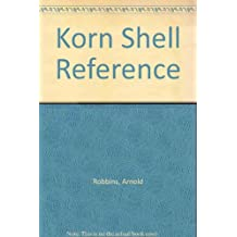 Korn Shell Reference