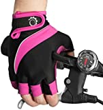 Cycle Gloves - Half Finger Light Pad Gloves For Riding for sale  Delivered anywhere in Ireland