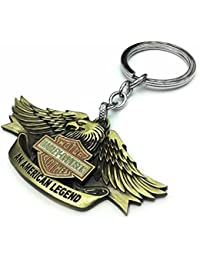 [Sponsored]Gratitude Harley Davidson Bike Metallic Keychain / Key Chain / Keyring / Key Ring