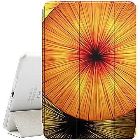 [ MagiX ] Apple iPad Air 1 / 2 - Smart Cover con funzione del basamento di sonno [ Fruit Abstract Kiwi Umbrella ]