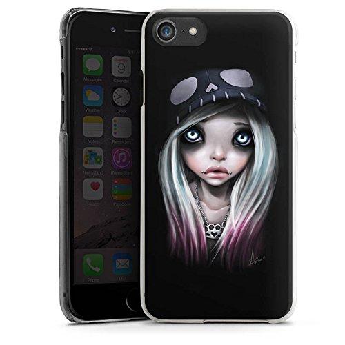 Apple iPhone X Silikon Hülle Case Schutzhülle Mädchen Kunst Art Hard Case transparent