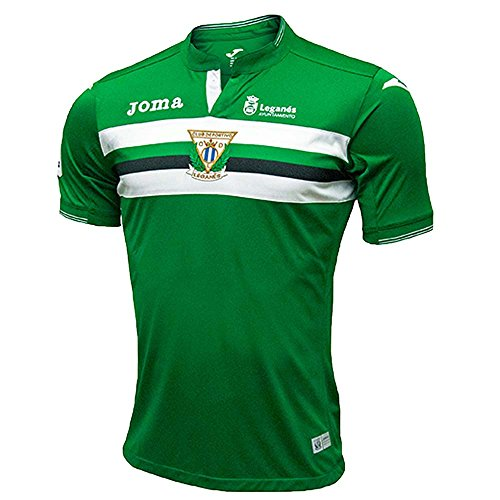Joma CD Leganes Away SS, Camiseta para hombre, azul/blanco, XL
