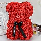 Exing Fleur de Mariage Belle Fleur d'ours Décoration de Mariage Fleurs à la Main...