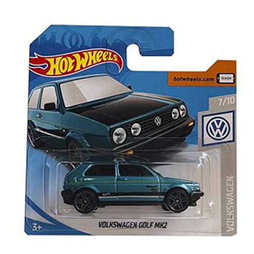 Matel Cars Hot Wheels Golf MK2 68/250 2019 Short Card (Golf Mk2)