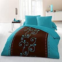 housse de couette turquoise cuisine maison. Black Bedroom Furniture Sets. Home Design Ideas