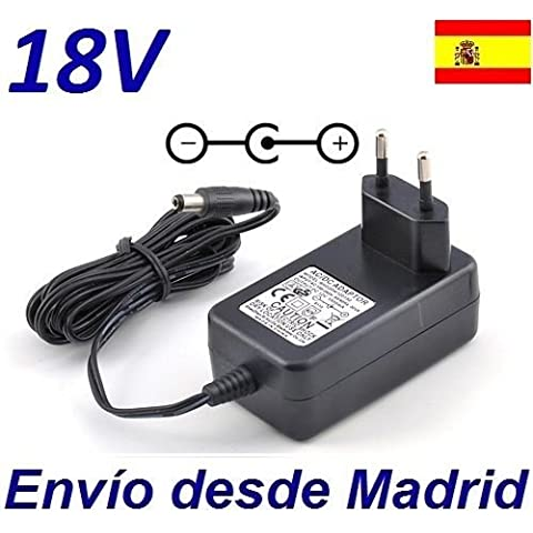 Cargador Corriente 18V Reemplazo Aspiradora JCB Flex 14.4v Recambio Replacement