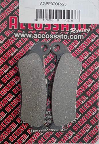 TOP SHOP Accossato Pastiglie Freno Posteriore Bmww  R 1200 R 2007-2014 VARI MODELLI Bmww