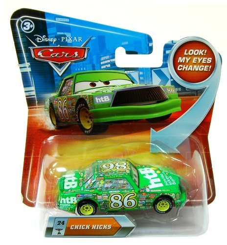 Disney Pixar Cars Chick Hicks (lenticular, look! my eyes change!) - Véhicule Miniature - Voiture