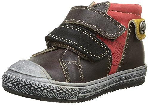 Catimini Jungen Arlequin Sneaker Marron (14 Vtu Marron/Rouge Dpf/Omero)