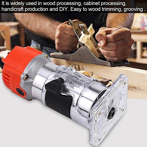 220V Elektrische Trimmer Holz Laminator Schreiner Werkzeug Set 580W