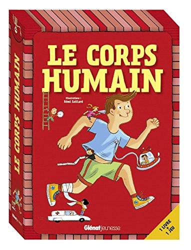 Coffret Le corps humain: 1 livre + 1 jeu
