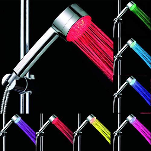 LED Handbrause Bad Duschkopf 7 Farbe LED Duschkopf Persönlichkeit Wassereinsparung Handbrause Modifizierte Hochdruck Anion Filter