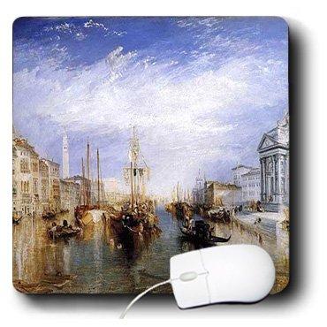 3drose LLC 20,3x 20,3x 0,6cm Maus Pad, Bild der Malerei der Grand Canal venice1885von W Turner (MP _ 101779_ 1)