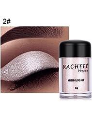 Glitter Eyeshadow Poudre Femmes Cosmétiques Poudre Brillante Fard à Paupières Couleur Maquillage