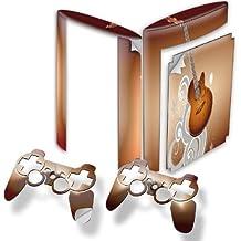Colección 24, Custom Consola PS3FAT Slim Full Body diseño pantalla Skin Protector Funda Meine Musik 10005 PS3 Superslim Designfolie