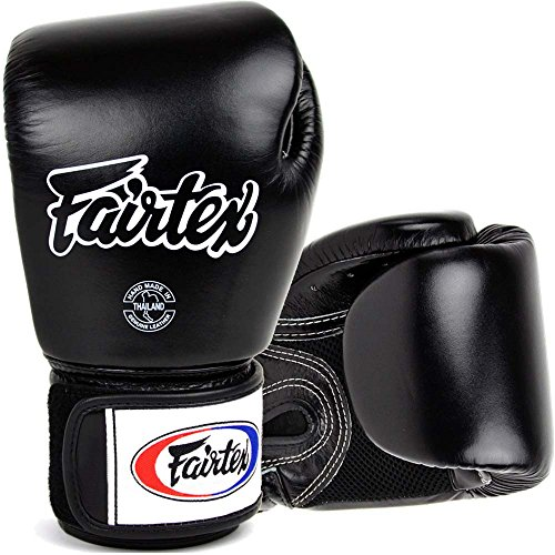 fairtex boxhandschuhe Fairtex Boxhandschuhe, BGV-1 AIR, schwarz, Boxing Gloves MMA Muay Thai Thaiboxen Size 16 Oz