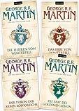 Das Lied von Eis und Feuer 1, 2, 3, 4, George R.R. Martin (Das Lied von Eis und Feuer)