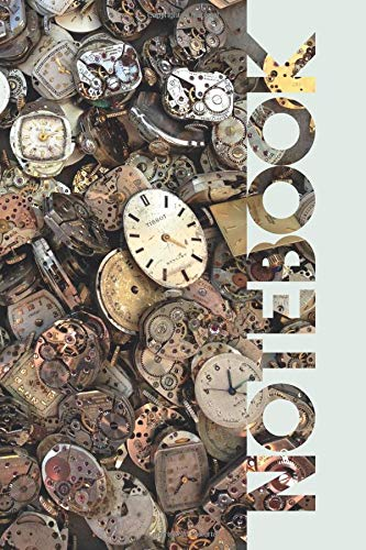 Notebook: Horlogerie Charming Composition Book for Watchmaker and Watch Collector por Molly Elodie Rose