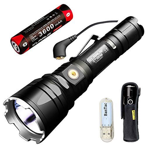 Klarus xt12gt magnetic-charging 1600 Lumen Tactical Taschenlampe CREE LED...