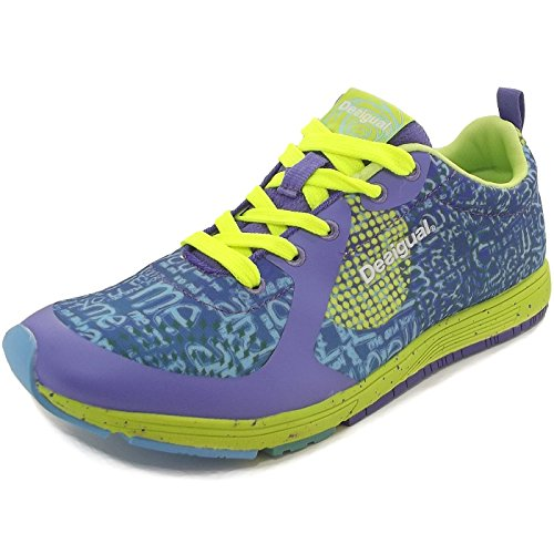 Desigual Shoes_x-lite 2.0 Damen Hallenschuhe Blau (Blue Iris)