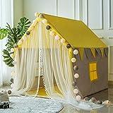 XXM Kinderspielzelt, Indoor- und Outdoor-Baumwollfaserhalterung kleines Spielhaus Babybett...