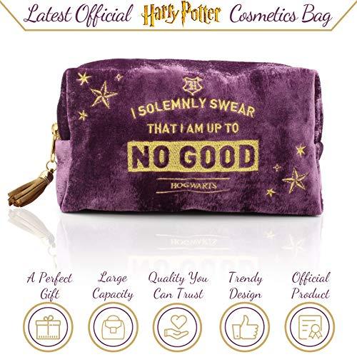 51CwbvUuBlL - Harry Potter Neceser de Viaje para Mujer y Niñas Organizador de Bolso Cosmético Accesorios de Viaje Estuche de Maquillaje