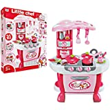 Little Chef Deluxe Kitchen Play Set With Lights & Sound