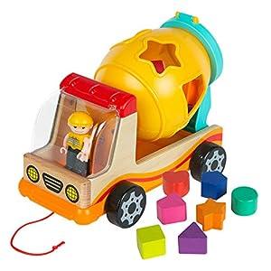 WOOMAX - Camión de actividades (ColorBaby 46255)