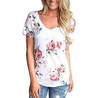 CLOOM_Damen Kleidung Sommer Bluse Cloom Damen V-Ausschnitt Oversize Sweatshirt Basic Shirt Sexy Sweatshirt Freizeit... preisvergleich bei billige-tabletten.eu