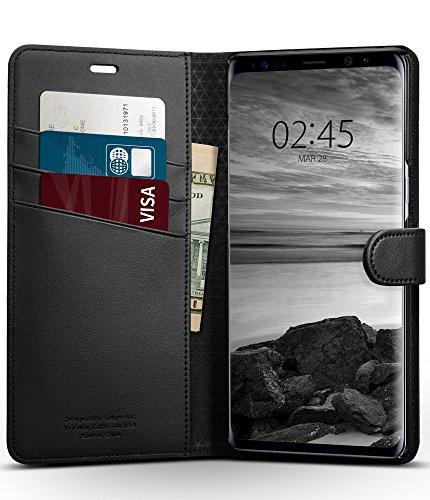 Spigen Wallet S Case for Samsung Galaxy Note 8 – Black 587CS22095
