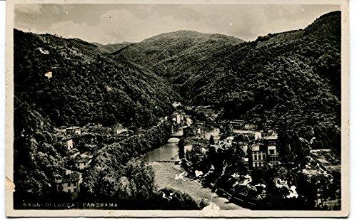 1933 bagni di lucca stazione termale grotta a vapore usato spedito ovunque in italia