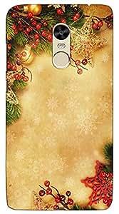 Meraki Silicone Soft Printed Back Cover For Redmi Note 4