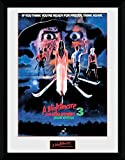 1art1 112775 Nightmare On Elm Street - Dream Warriors Gerahmtes Poster Für Fans Und Sammler 40 x 30 cm