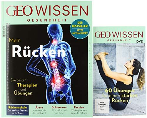 GEO Wissen Gesundheit / GEO Wissen Gesundheit mit DVD 8/18 - Rücken: DVD: 60 Übungen für einen starken Rücken -
