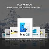 "Carcasa Disco Duro 3.5"", UGREEN Caja Disco Duro USB 3.0 con UASP para HDD SSD SATA I/II/III, 12 TB Max, Comaptible con PC, PS4,Xbox 360,Xbox One(Cable USB 3.0 y Adaptador de corriente 12V 2A Incluido)"