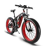 Electric ATV Limited Selling Worldwide Extrbici® XF800 1000W 48V 13A Eléctrico All Terrain Bike Soporte de carga USB con suspensión completa y Smart Code Table & Big Tire 26 x 4.0