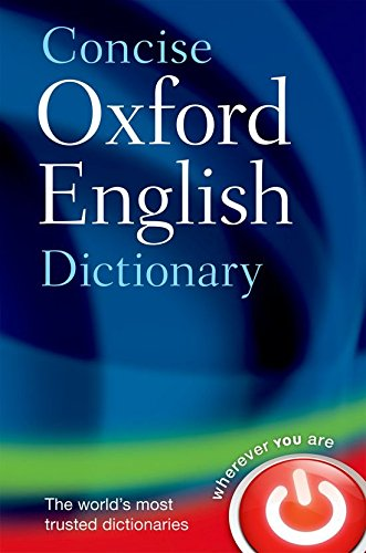 concise-oxford-english-dictionary-diccionario-oxford-concise