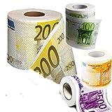 Rotolo Carta Igienica Money Stampata Con Euro 30 Mt