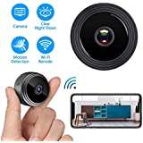 IFITech Mini Hidden WiFi Camera 1080P with Night Vision & Easy Installation for Home Security & Nanny Cam