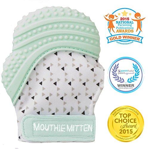 Mouthie Mitten - Mitón manopla de para dentición silicona - diferentes colores...