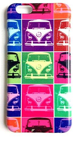 iPhone Schutzhülle 6, 6S, Plus, 5, SE, 5S: Pop Art Funky Muster Cool, plastik, iPhone 6 6S (Plus Zyklus)