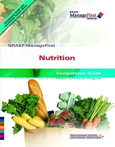 Nutrition Competency Guide by NRA National Restaurant Assoc. Education (2006) Paperback